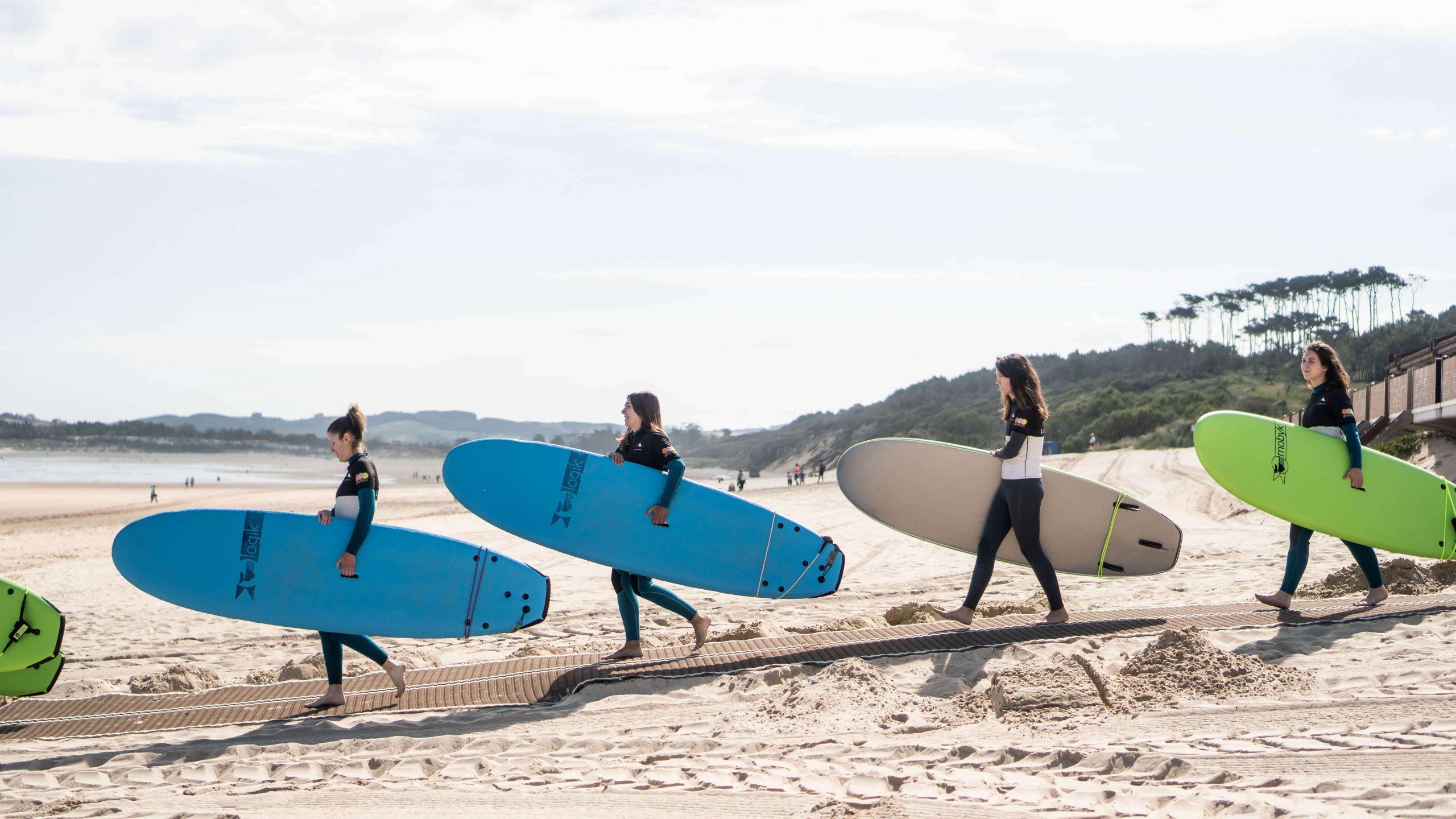 Surf Camp Spain, Somo